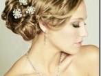 Peinados de lujo para novias