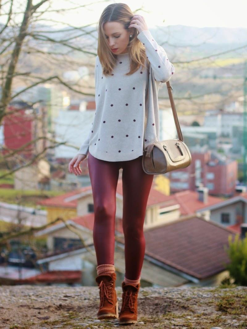 C mo combinar leggings for Combinar marron