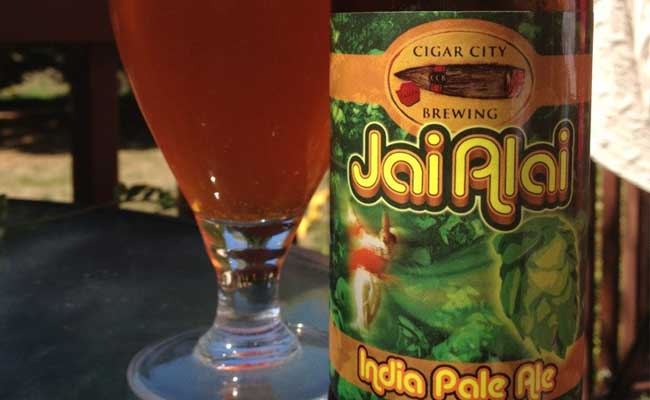 Jai Alai de Cigar City Brewing