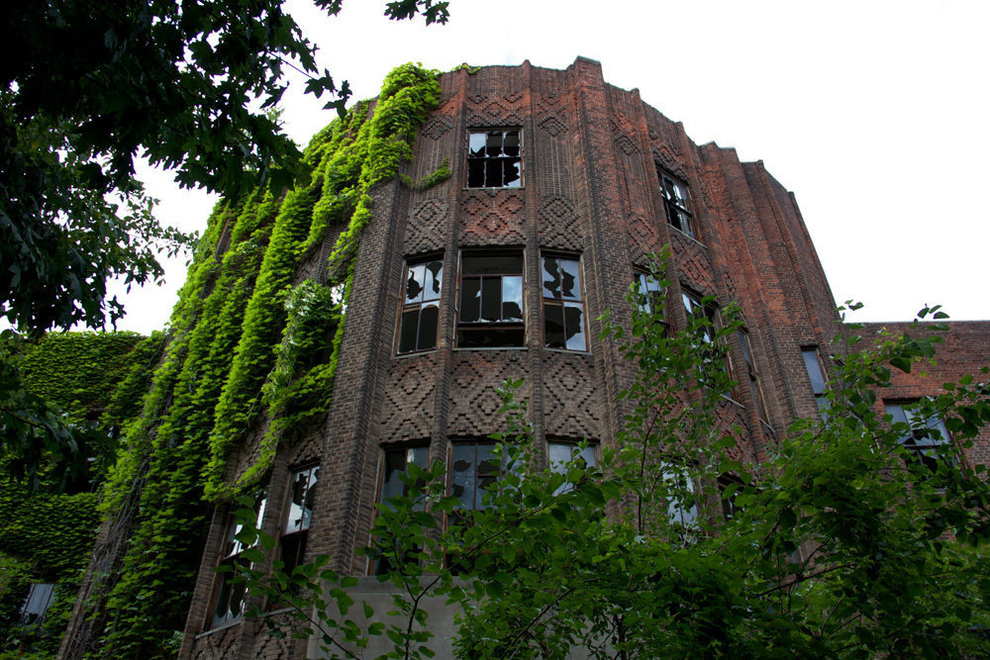 lugares abandonados Isla North Brother cerca de la Ciudad de Nueva York, Nueva York