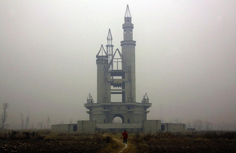 lugares bellos abandonados Parque de Atracciones Wonderland