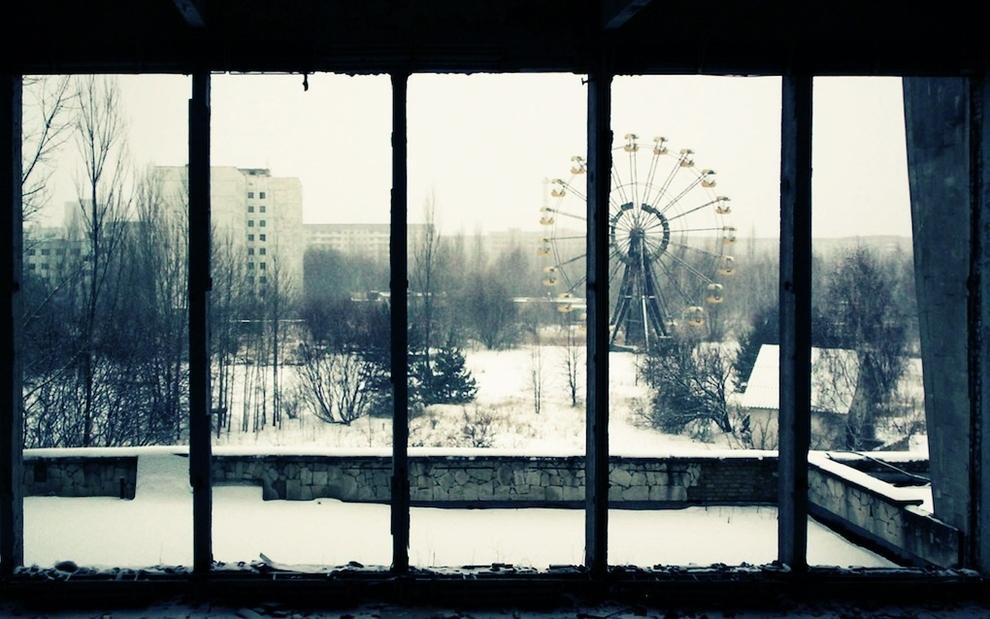 lugares hermosos abandonados Pripyat, Ucrania