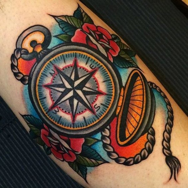 tatuajes-brujulas-colores-cantosos