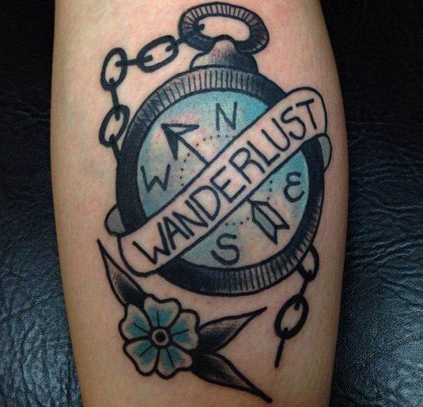 De 50 Tatuajes De Brujulas Que Te Van A Encantar