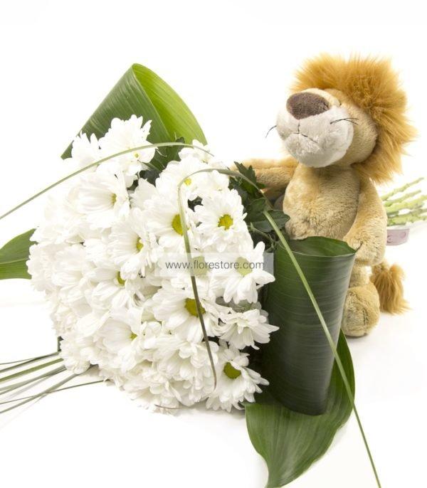 bouquet margaritas leon