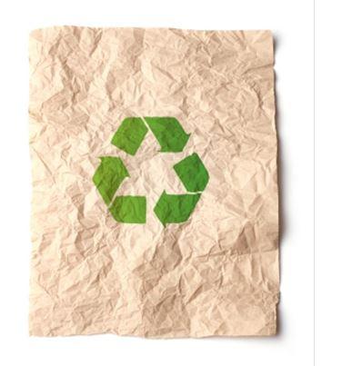 El Papel reciclado industrial