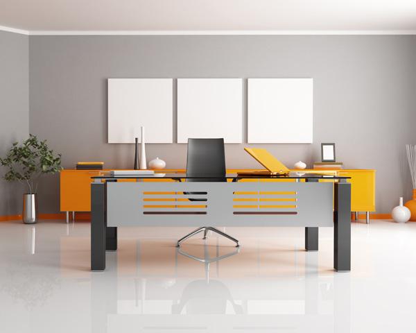 19 formas de decorar tu oficina for Muebles para oficina estilo minimalista