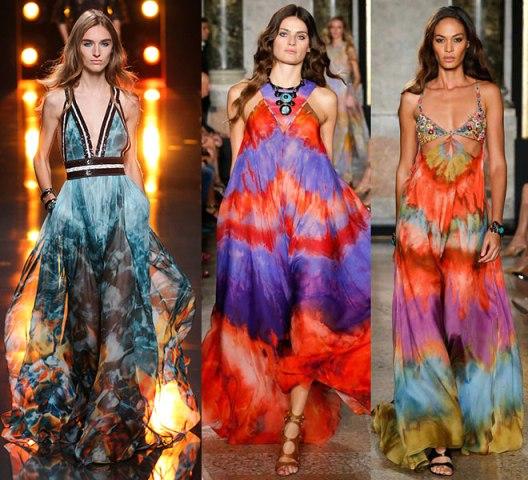 Vestido explosion colores