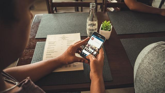 iphone restaurante comida
