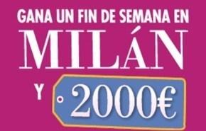 De compras a Milán con el Club Ligeresa