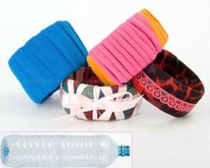 Originales brazaletes reciclados