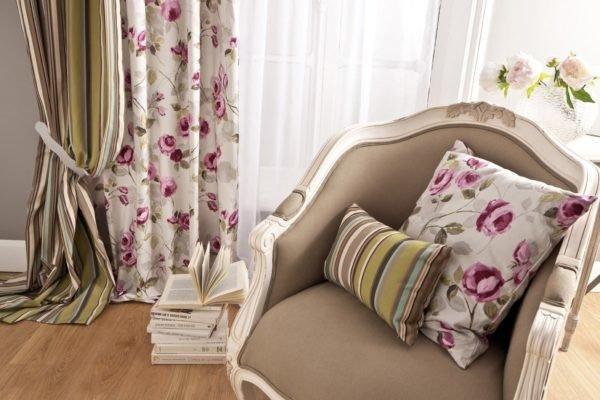 elegir-modelos-de-cortinas-motivos-florales