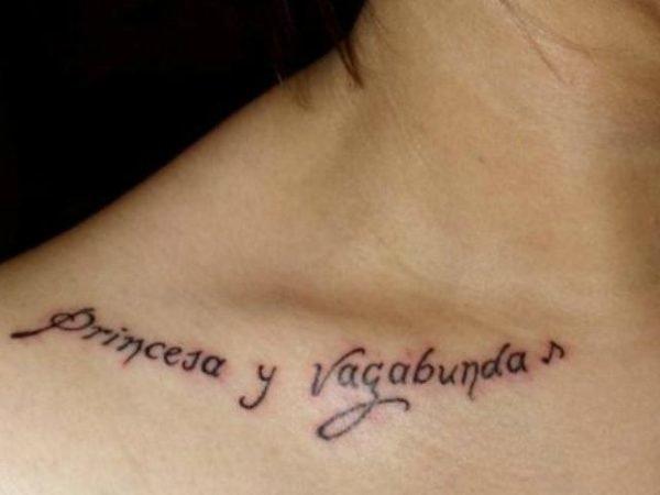Frases Cortas Para Tatuajes 2018 En Espanol Ingles Frances Y Latin