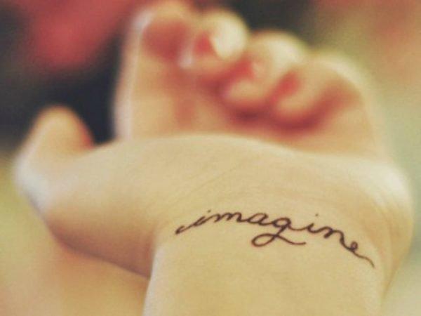 tatuajes-frases-cortas-inglés-imagine