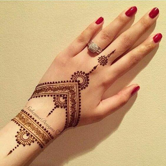 Tatuajes De Henna Todo Lo Que Debes Saber Tendenziascom