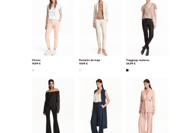 Catálogo H&M Mujer Primavera Verano 2018