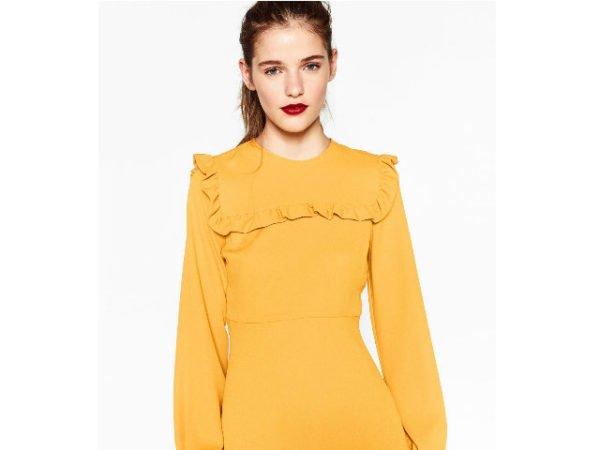 zara-vestidos-fiesta-otono-invierno-2017-amarillo