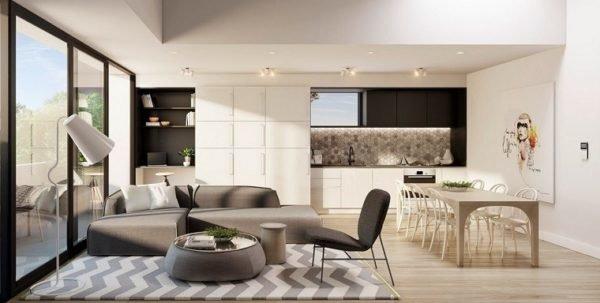 cocinas que puedan integrarse con la decoracin de nuestro cuarto de estar saln o comedor