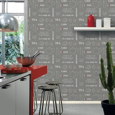 Ltimas tendencias en cocinas 2018 - Papel pared cocina ...