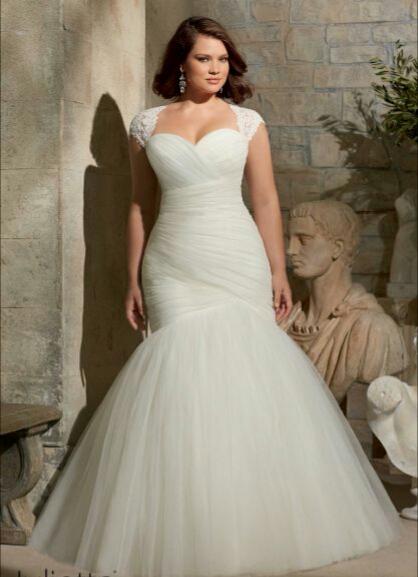 Vestidos de novia para gorditas \u2013 Corte sirena