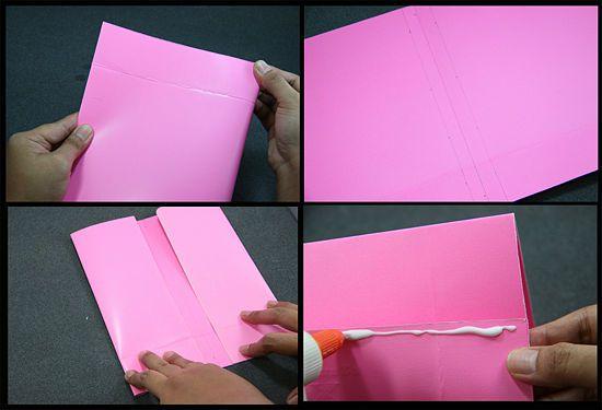 Cómo hacer bolsas de papel con material reciclado