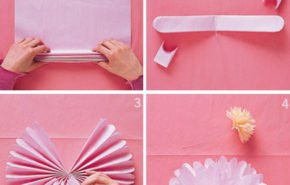 Cómo hacer pompones con material reciclado