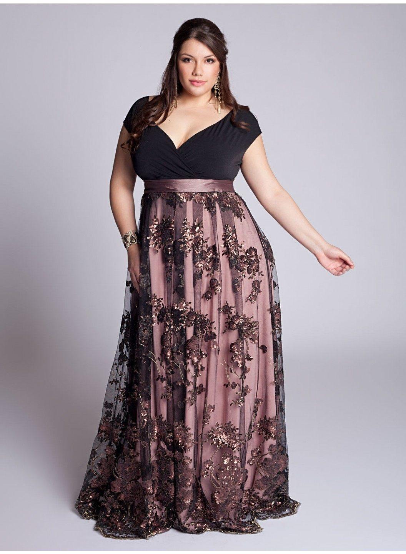 f51377d22 Vestidos de fiesta tallas grandes Primavera Verano 2019 - Tendenzias.com