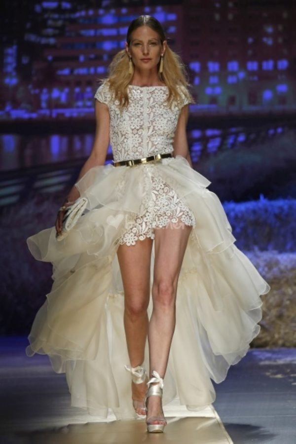 los vestidos de novia cortos para 2019 - tendenzias