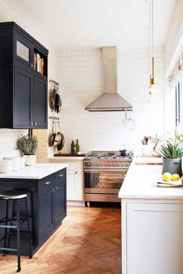 cocinas-pequenas-modernas-cocina-bicolor