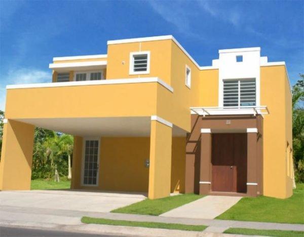 Los colores para casas con estilo en 2018 for Colores modernos para exteriores