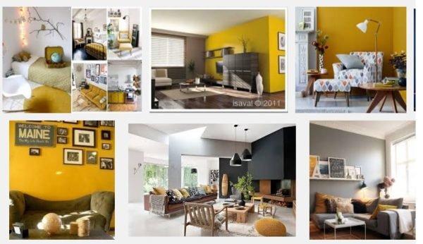Colores para interiores de casa con estilo 2018 for Colores en paredes 2016