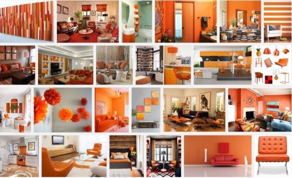 Colores para interiores de casa con estilo 2019 - Decoracion naranja ...