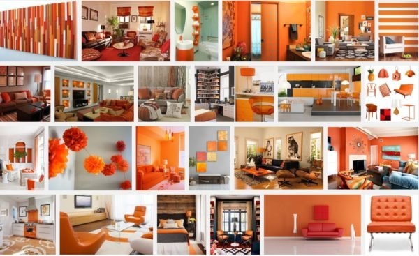 Colores para interiores de casa con estilo 2018 for Decoracion hogar naranja