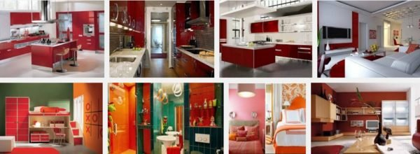 Colores para interiores de casa con estilo 2019 for Decoracion de interiores color rojo