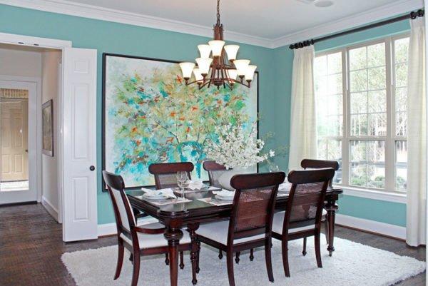 Los colores para casas con estilo en 2018 for Casas pintadas interior colores
