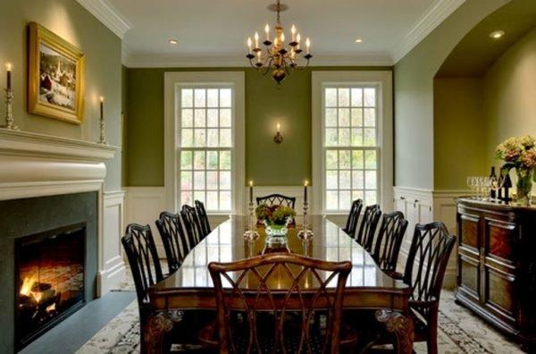colores-para-casas-con-estlo-interior-comedor-verde