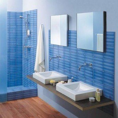 Colores para cuartos de ba o 2018 - Pintura para azulejos de bano ...