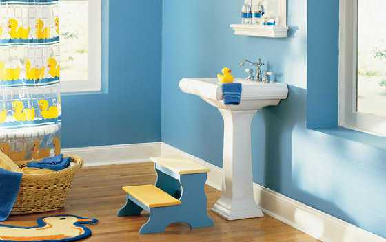 Colores para cuartos de ba o 2018 - Habitaciones de color azul ...