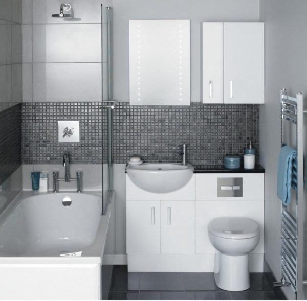 Colores para cuartos de ba o peque os 2018 - Azulejos para cuartos de bano pequenos ...