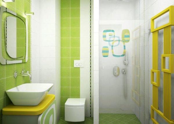 Colores para cuartos de ba o peque os 2018 for Cuartos de bano verdes