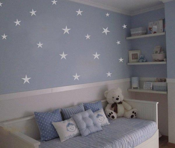 Colores para cuartos de beb s reci n nacidos 2018 for Pegatinas para habitacion de bebe