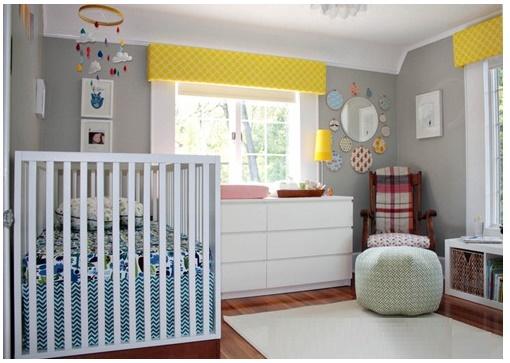 Colores para cuartos de beb s reci n nacidos 2018 for Cuarto color gris