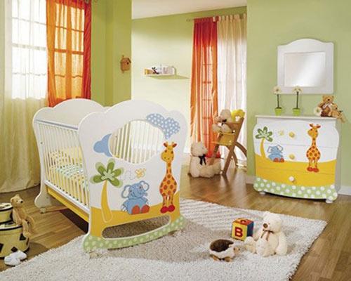 Colores para cuartos de bebés recién nacidos 2017   tendenzias.com