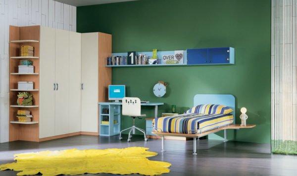 Colores para cuartos juveniles habitaciones 2018 - Habitaciones juveniles para chico ...