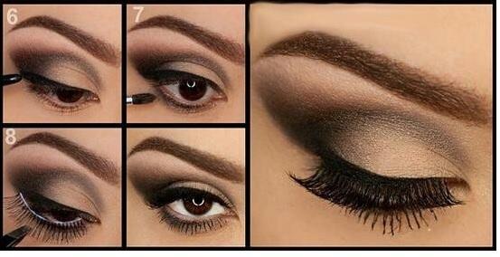 Ojos Pequeos Cmo Maquillar unos Ojos Pequeos Tendenziascom