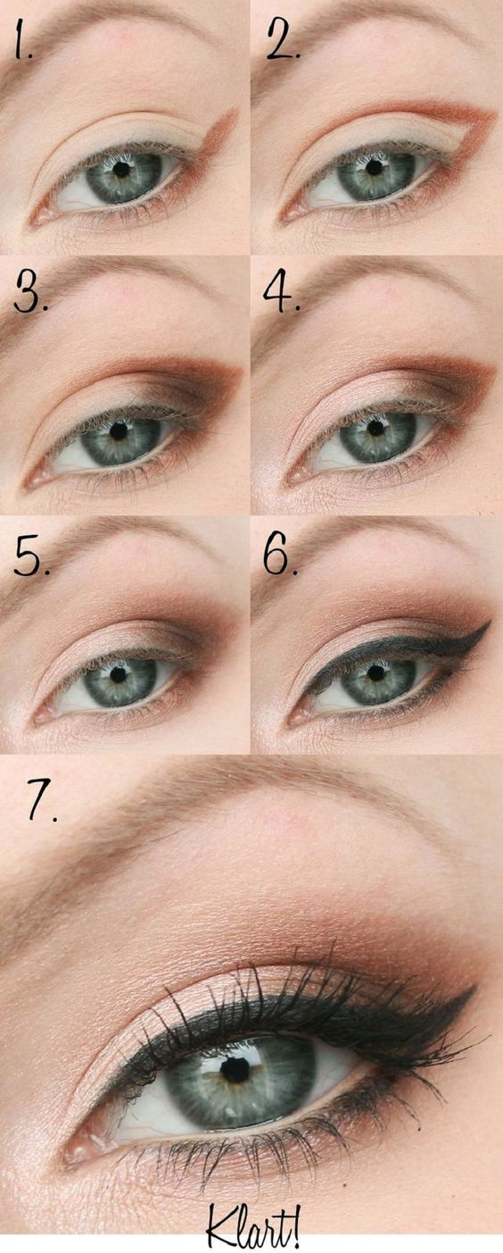 maquillaje de dia ojos verdes