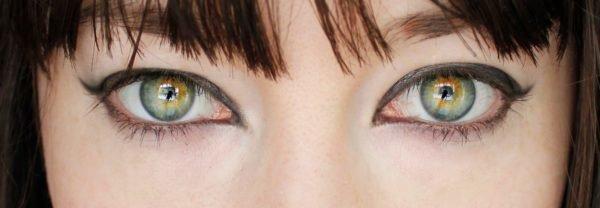 C mo maquillar ojos verdes ideas y consejos - Colores verdes azulados ...