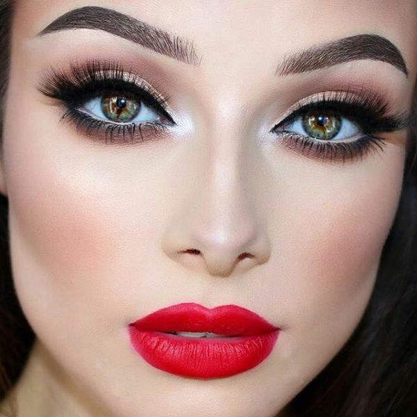 maquillaje para novia de tarde noche