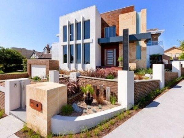 fachadas-de-las-casas-más-bonitas-y-modernas-casa-con-garage