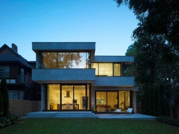 De 180 fotos de fachadas de casas modernas casas for Casas modernas y grandes